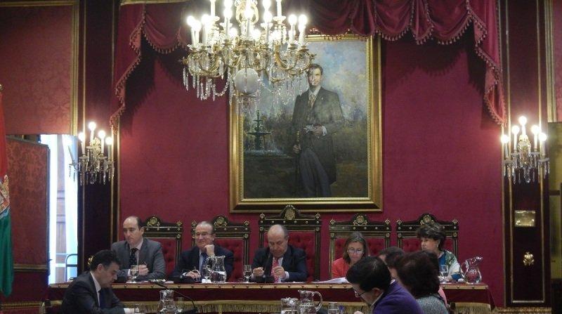 pleno del ayuntamiento de granada 2014 diciembre