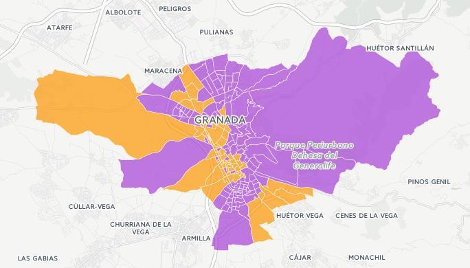 podemos vs ciudadanos elecciones 26j granada capital